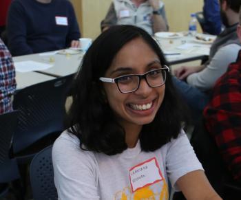 Niranjana Krishnan, recipient of the Jean Laffoon Memorial Scholarship