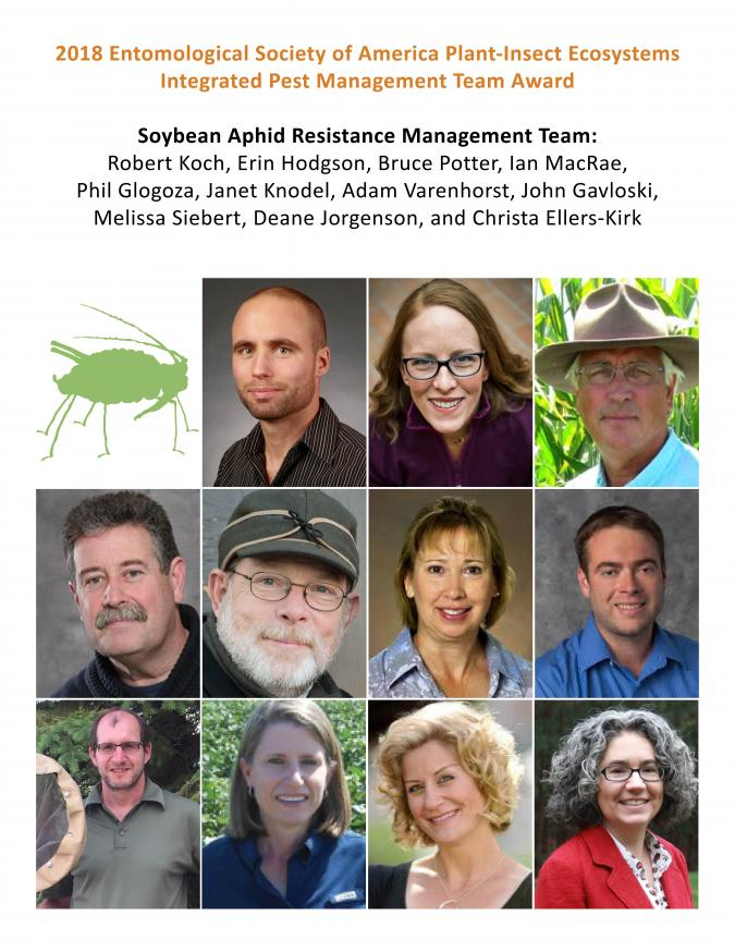 Soybean Aphid Resistance Management Team