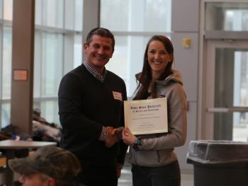 Rebekah Reynolds, recipient of the Wayne A. Rowley Scholarhsip