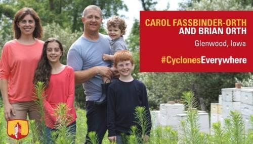 Carol Fassbiner-Orth image from ISU Alumni Association