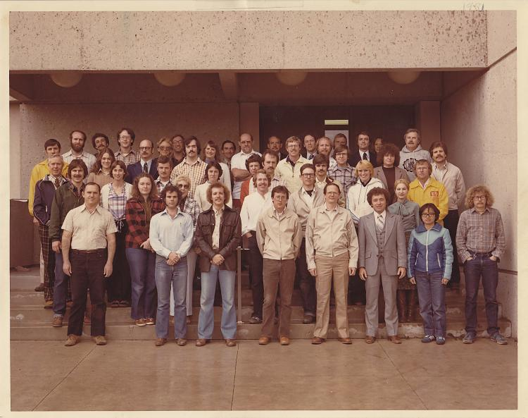 Photograph of the 1981 Department of Entomology