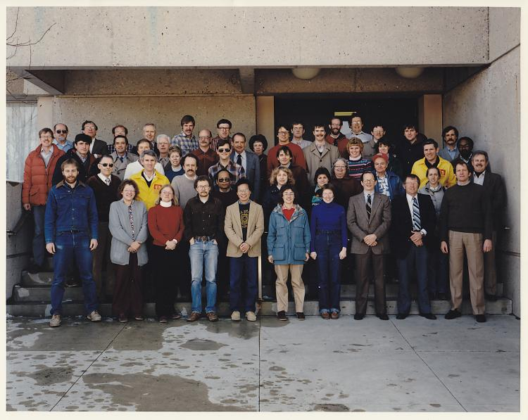 Photograph of the 1985 Department of Entomology