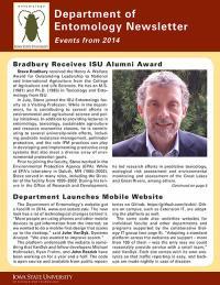 Department of Entomology Alumni News 2015