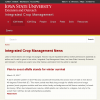 Crop News - Integrated Crop Management (ICM) Newsletter