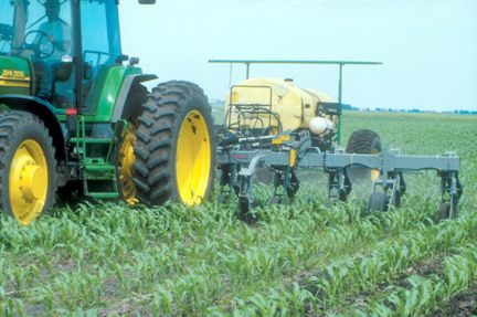Applying nitrogen during cultivation