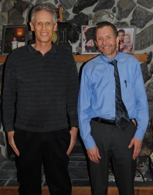 Photograph of Dr. Joel Coats and Dr. Steve Bradbury